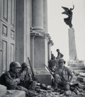 Photographs:Gelatin Silver, Robert Capa (American, 1913-1954). Italy, Near the Cathedral Maria Santissima Assunta, Triona, Sicily, 1943. Gelatin sil...