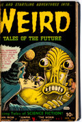 Golden Age (1938-1955):Miscellaneous, Golden Age Horror and War Comics Bound Volume (Various Publishers, 1952-54)....