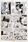 Original Comic Art:Panel Pages, George Tuska and Billy Graham Hero for Hire #11 Story Page 19 Original Art (Marvel, 1973)....