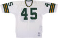 Football Collectibles:Uniforms, Mid 1970's Perry Smith Game Worn Green Bay Packers Jersey....
