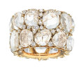 Estate Jewelry:Rings, Diamond, Rock Crystal Quartz, Gold Eternity Band, Pomellato . ...