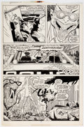Original Comic Art:Panel Pages, John Romita Jr. and Al Williamson Daredevil #265 Story Page 3 Original Art (Marvel, 1989)....