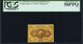 Fractional Currency:First Issue, Fr. 1230 5¢ First Issue PCGS Choice About New 58PPQ.. ...