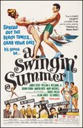 """Movie Posters:Rock and Roll, A Swingin' Summer & Other Lot (United Screen Arts, 1965). Overall: Very Fine- on Linen. One Sheets (2) (27"""" X 41""""). Rock and... (Total: 2 Items)"""