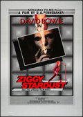 "Movie Posters:Rock and Roll, Ziggy Stardust and the Spiders from Mars (Thorn EMI, 1983). Very Fine on Linen. British One Sheet (28"" X 39.5""). Rock and Ro..."