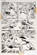 Original Comic Art:Panel Pages, John Buscema and Mike Esposito Thor #221 Story Page 7 Original Art (Marvel, 1974)....