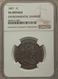 1807 1C Comet -- Environmental Damage -- NGC Details. VG. NGC Census: (0/0). PCGS Population: (0/2). Mintage 829,221...