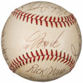 Autographs:Baseballs, 1970's St. Louis Cardinals & Stars Multi-Signed Baseball fromThe Enos Slaughter Collection....