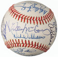 Autographs:Baseballs, Baseball Greats Multi-Signed Baseball (19 Signatures) from...
