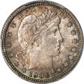 Barber Quarters, 1906-O 25C MS66+ PCGS. CAC. With a mintage in exce...