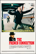 """Movie Posters:Action, The French Connection (20th Century Fox, 1971). Very Fine on Linen. One Sheet (27"""" X 41""""). Action.. ..."""