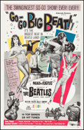 "Movie Posters:Rock and Roll, Go-Go Big Beat (El Dorado Films, 1965). Very Fine on Linen. OneSheet (27"" X 41""). Rock and Roll.. ..."