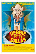 """Movie Posters:Adult, Debbie Does Dallas (Numa, 1978). Very Fine on Linen. One Sheet (27"""" X 41""""). Adult.. ..."""