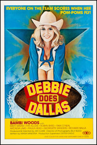 "Debbie Does Dallas (Numa, 1978). Very Fine on Linen. One Sheet (27"" X 41""). Adult"