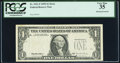 Missing Third Printing Error Fr. 1921-F $1 1995 Federal Reserve Note. PCGS Very Fine 35