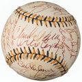 Autographs:Baseballs, 1994 All-Star Game Multi Signed Baseball (29 Signatures) from theEnos Slaughter Collection....