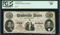 Confederate Notes:1861 Issues, T26 $10 1861 PF-2 Cr. 213 PCGS Very Fine 30.. ...