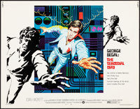 """The Terminal Man & Other Lot (Warner Brothers, 1974). Rolled, Very Fine-. Half Sheets (2) (22"""" X 28"""")..."""