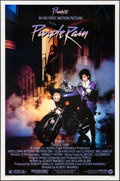 "Movie Posters:Rock and Roll, Purple Rain (Warner Brothers, 1984). Rolled, Very Fine/Near Mint. One Sheet (27"" X 41""). Rock and Roll.. ..."