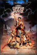 """Movie Posters:Comedy, National Lampoon's European Vacation & Other Lot (Warner Brothers, 1985). Rolled, Very Fine. One Sheets (2) (24"""" X 40.5"""" & 2... (Total: 2 Items)"""