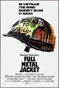 "Movie Posters:War, Full Metal Jacket (Warner Brothers, 1987). Rolled, Near Mint. One Sheet (27"" X 41"") Philip Castle Artwork. War.. ..."