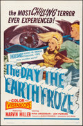 "Movie Posters:Fantasy, The Day the Earth Froze (Filmgroup, Inc., 1963). Folded, Fine/VeryFine. One Sheet (27"" X 41""). Fantasy.. ..."