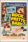 "Movie Posters:Rock and Roll, Rock, Pretty Baby (Universal International, 1957). Rolled, Very Fine-. One Sheet (27"" X 41""). Rock and Roll.. ..."