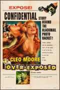 "Movie Posters:Bad Girl, Over-Exposed (Columbia, 1956). Folded, Fine/Very Fine. One Sheet (27"" X 41""). Bad Girl.. ..."
