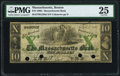 Obsoletes By State:Massachusetts, Boston, MA- Massachusetts Bank $10 Sep. 1, 1860 G236d PMG Very Fine25.. ...