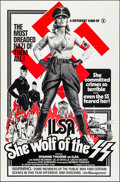 """Movie Posters:Exploitation, Ilsa, She Wolf of the SS (Cambist Films, 1975). Folded, Very Fine.One Sheet (27"""" X 41""""). Exploitation.. ..."""