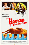 """Movie Posters:Exploitation, The Hooked Generation & Other Lot (Allied Artists, 1968).Folded, Overall: Fine/Very Fine. One Sheets (2) (27"""" X 41"""").Explo... (Total: 2 Items)"""