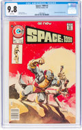 Bronze Age (1970-1979):Science Fiction, Space: 1999 #2 (Charlton, 1976) CGC NM/MT 9.8 White pages....
