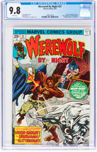 Werewolf by Night #37 (Marvel, 1976) CGC NM/MT 9.8 White pages