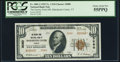 National Bank Notes:Vermont, Manchester Center, VT - $10 1929 Ty. 2 The Factory Point NB Ch. # 3080 PCGS Choice About New 55PPQ.. ...