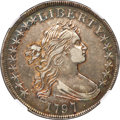Early Dollars, 1797 $1 10x6 Stars, Large Letters, B-3, BB-71, R.2, XF45 NGC....