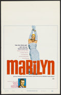 "Movie Posters:Documentary, Marilyn (20th Century Fox, 1963). Window Card (14"" X 22""). Documentary...."