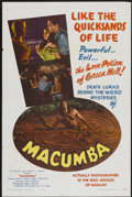 "Movie Posters:Adventure, Macumba (Mocamp Enterprises, 1956). One Sheet (27"" X 41"").Adventure...."