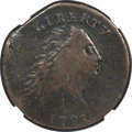 Large Cents, 1793 1C Chain, AMERICA, S-3, B-4, Low R.3 -- Damaged -- NGC Details. Fine....