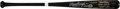 Baseball Collectibles:Bats, 1987 Reggie Jackson Game Used & Signed Bat with Message to Jose Canseco, PSA/DNA GU 8.5. ...