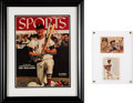 Baseball Collectibles:Photos, 1990's Ted Williams Signed UDA Photographs & Cards Lot of 3....