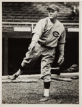 Baseball Collectibles:Photos, Circa 1929 Red Lucas Original Photograph by Charles Conlon...