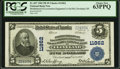 National Bank Notes:Ohio, Cleveland, OH - $5 1902 Plain Back Fr. 607 Brotherhood of Locomotive Engineers Co-Operative NB Ch. # 11862 PCGS Choice...