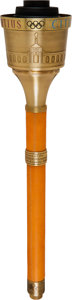 Olympic Collectibles:Autographs, 1984 Los Angeles Summer Olympics Torch with Case. ...