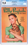 Golden Age (1938-1955):Miscellaneous, Polly Pigtails #2 Mile High Pedigree (Parents' Magazine Institute, 1946) CGC NM/MT 9.8 White pages....