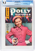 Golden Age (1938-1955):Miscellaneous, Polly Pigtails #14 Mile High Pedigree (Parents' Magazine Institute, 1947) CGC NM- 9.2 White pages....