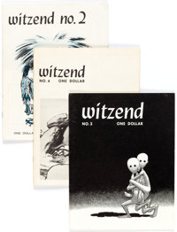 Witzend #1-8 Group (Wally Wood, 1966-68) Condition: Average FN/VF.... (Total: 8 Items)