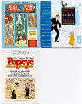 Books:Miscellaneous, Comic Strip Related Books Group of 3 (Various Publishers).... (Total: 3 Items)