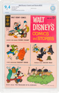 Silver Age (1956-1969):Cartoon Character, Walt Disney's Comics and Stories #265 (Gold Key, 1962) CBCS NM 9.4 White pages....