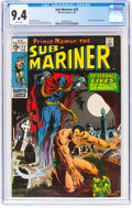 Bronze Age (1970-1979):Superhero, The Sub-Mariner #22 (Marvel, 1970) CGC NM 9.4 White pages....