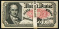 Fractional Currency:Fifth Issue, Fr. 1381 50¢ Fifth Issue Original Pack of Twenty Very Fine.. ...(Total: 20 notes)